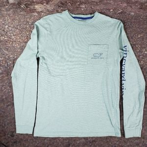 Vineyard Vines Classic Long Sleeve Whale Graphic